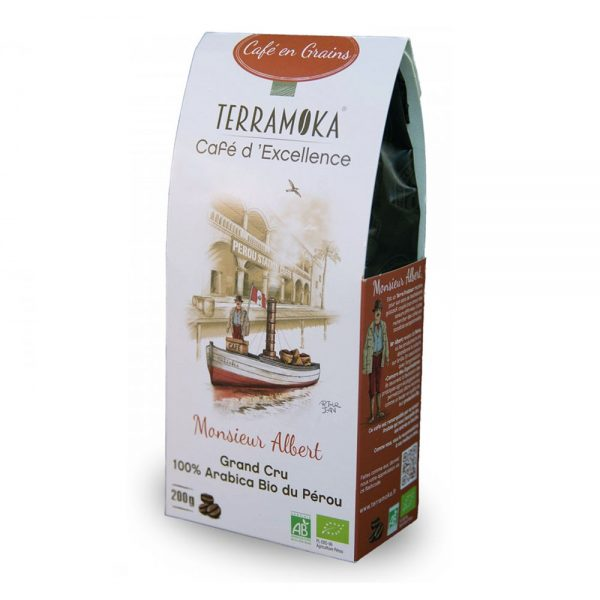 Café Albert Terramoka en grains
