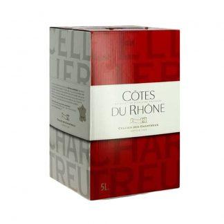 Bib 5 L Côtes du Rhône Cellier des chartreux