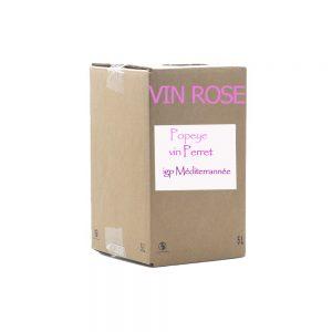 Bib 5 L Rosé igp méditerrannée (popeye)