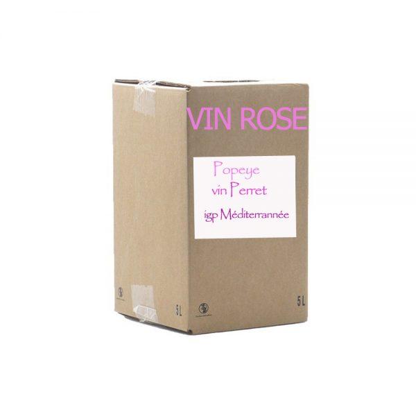 Bib 10 L Rosé igp méditerrannée (popeye)