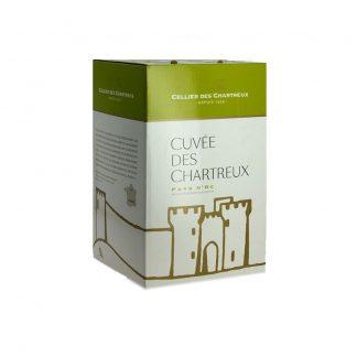 Bib 5 L Blanc IGP Gard Cellier des chartreux