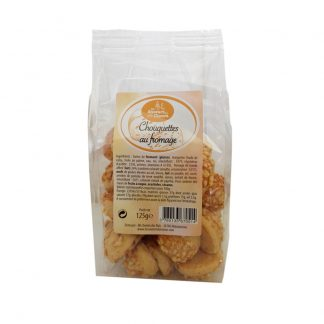 CHOUQUETTES AU FROMAGE 125G