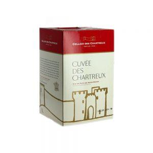 Bib 5 L rouge igp gard Cellier des chartreux