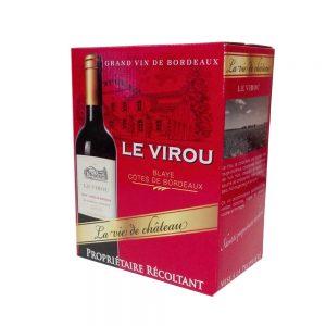 Bib 3 L Ch le Virou Côtes de Bordeaux-blaye