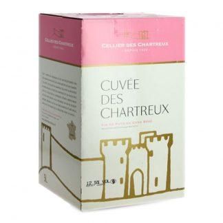 Bib 10 L rosé igp gard Cellier des chartreux