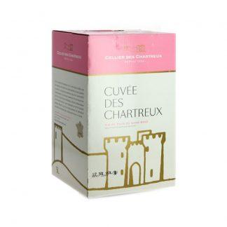 Bib 5 L rosé igp gard Cellier des chartreux