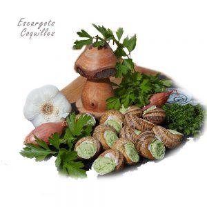 24 Escargots surgelés en coquille – Recette à la Bourguignonne