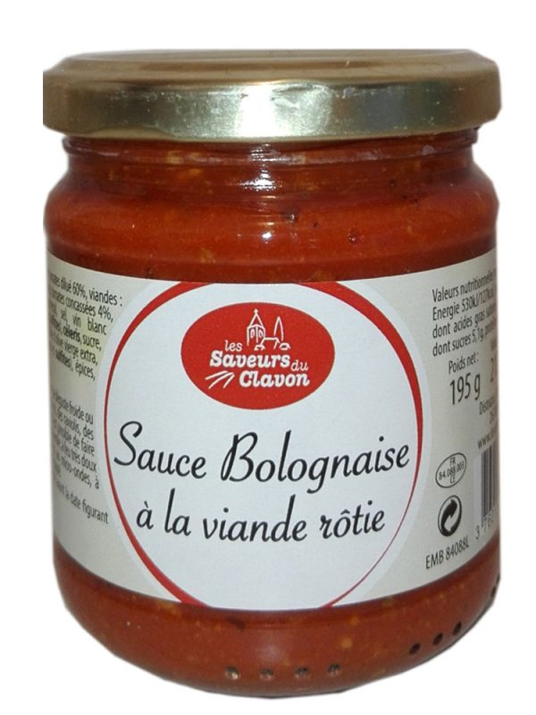 Sauce Bolognaise à la viande rôtie 195 g