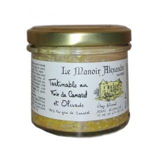 Tartinable au Foie de Canard et olivade «25% Foie Gras de Canard»