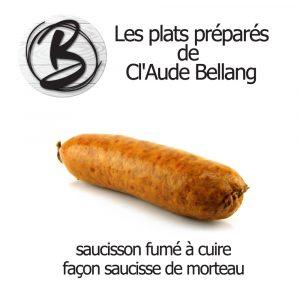 Saucisson à cuire façon Morteau (fumé)